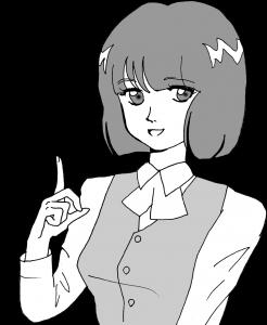 事務員女の子 イメージ