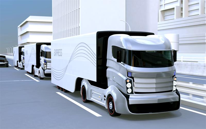 新聞輸送トラックの動態管理 イメージ